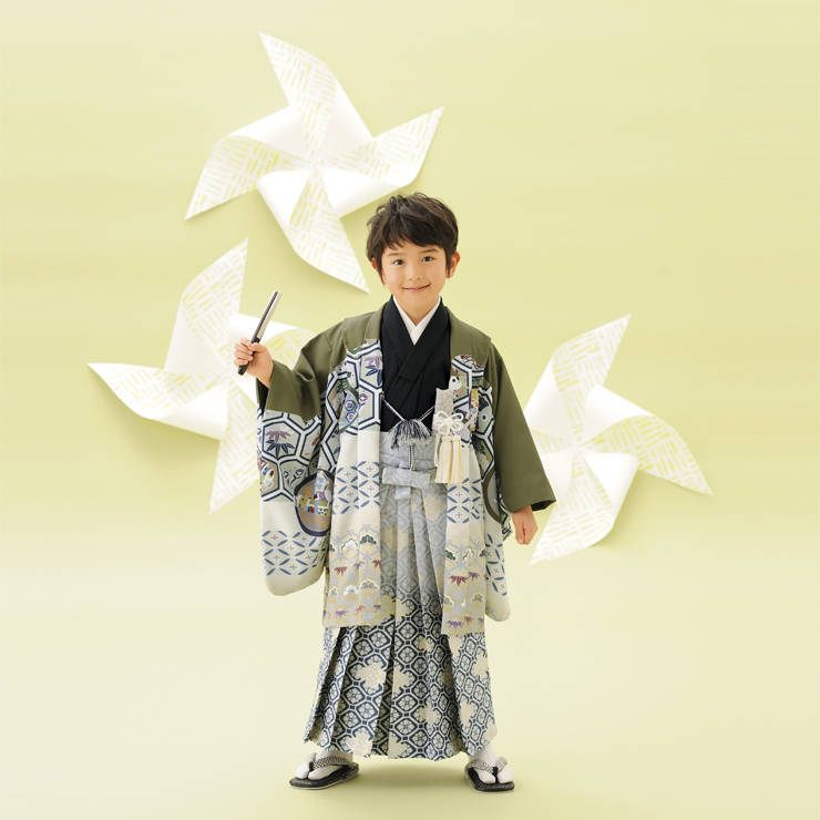 男児5歳 羽織袴セット 72,000円(税別)
